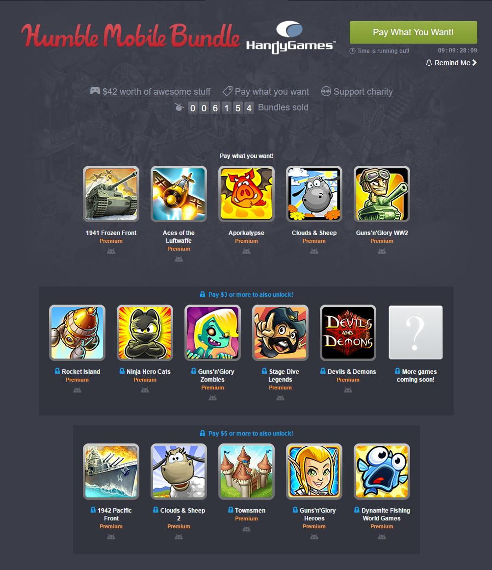 Humble Mobile Bundle  HandyGames.png