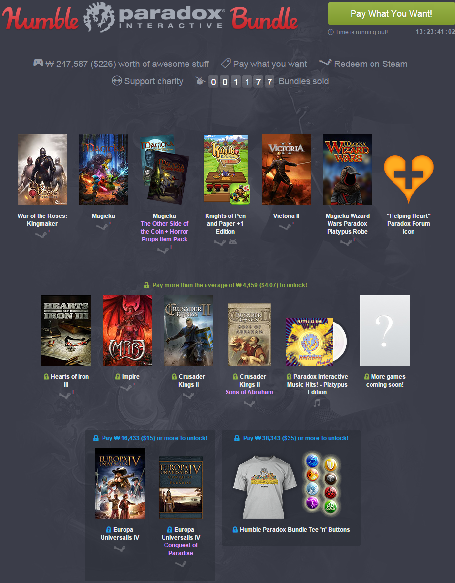 Humble Paradox Bundle  pay what you want and help charity .png