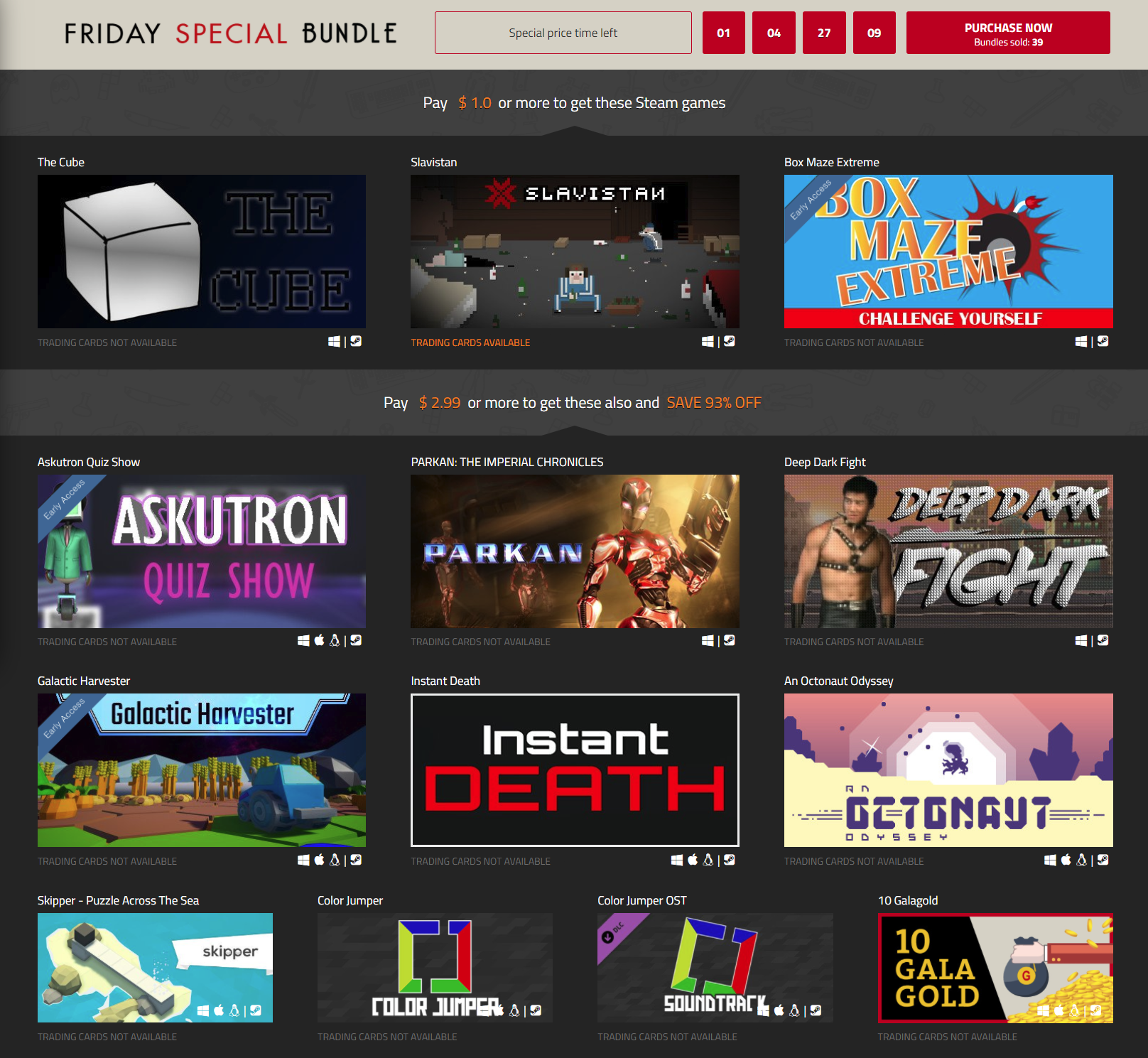IndieGala   Friday Special  66 Steam Bundle of Steam games.png