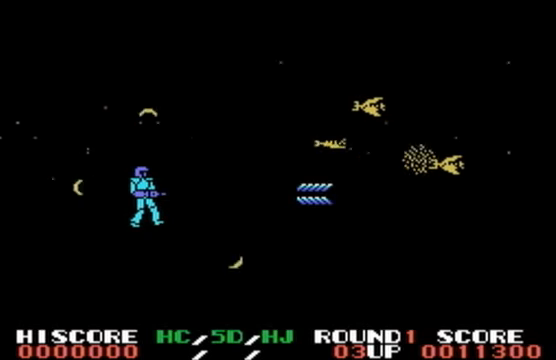 MSX GAME ◀AlphaRoid, αROID, アルファロイド▶ Round1 PLAY 2-21 screenshot.png