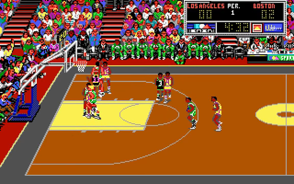 DOS - Lakers vs Celtics and the NBA Playoffs 0-40 screenshot.png
