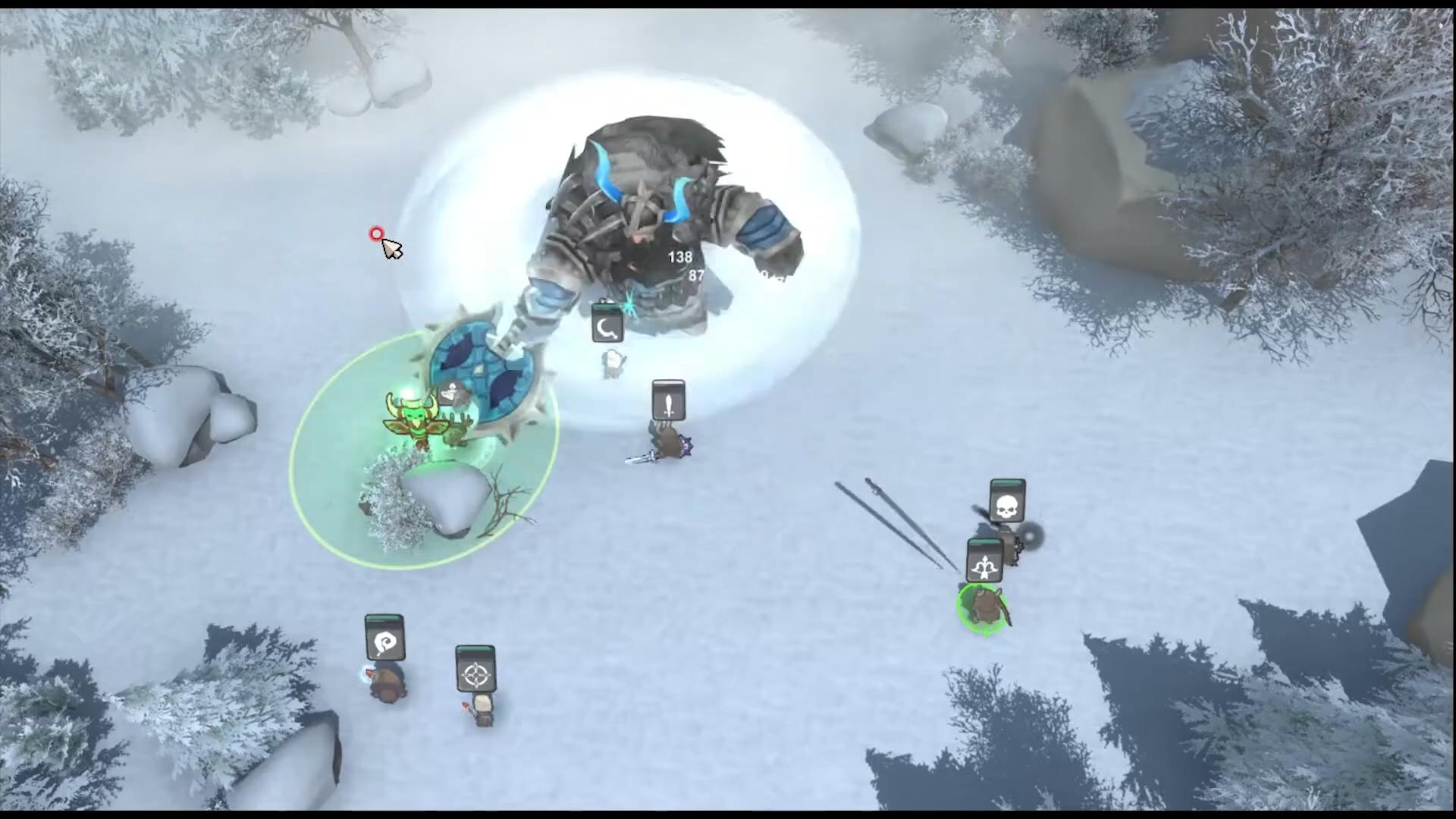 레이더스 '타락한 드워프 킹' 전투영상 1-36 screenshot.png
